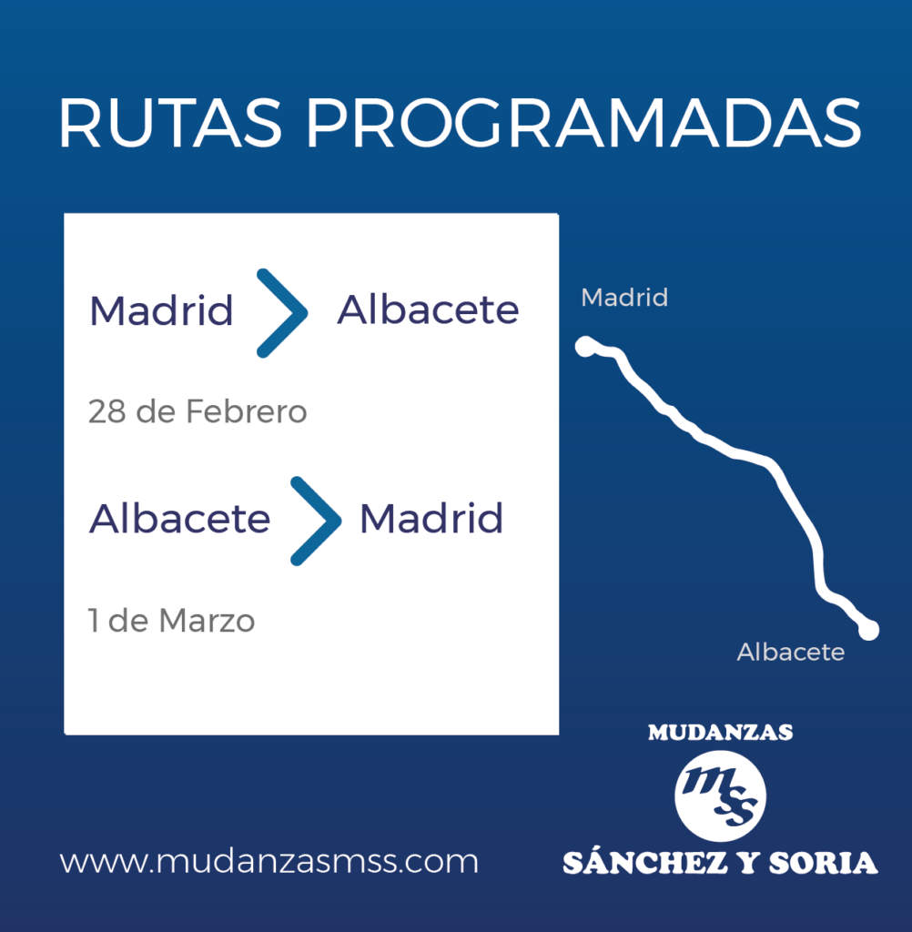 transportes albacete madrid