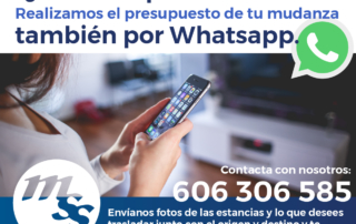 mudanza whatsapp