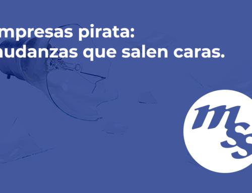 Empresas pirata: mudanzas que salen caras.